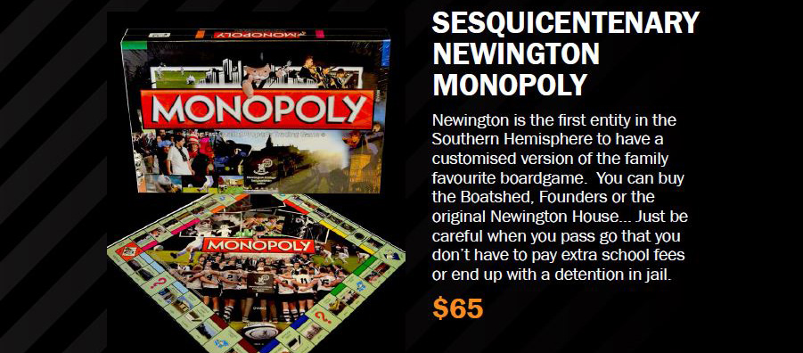 Newington Monopoly Set