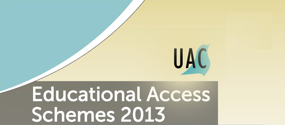 Am i eligible for the UAC educational access scheme?